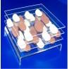25 Base plexis à chocolats pliées - A partir de (selon la couleur):