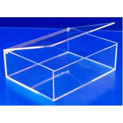 Boîte à couvercle pivotant - LG 248 x lg 188 x ht 88 mm