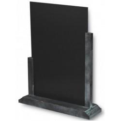 3 Chevalets - ardoise de comptoir - cadre gris lazuré - A partir de (selon la taille):