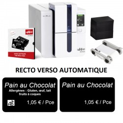 Kit evolis EDIKIO PRICETAG DUPLEX - RECTO/VERSO automatique