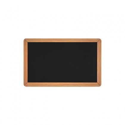 Cartes PVC noir brillant ARDOISE 54 x 86 mm