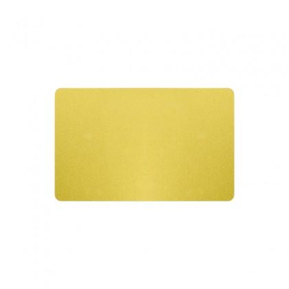 Cartes PVC or pailleté - 54 x 86 mm