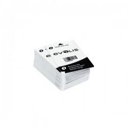 Lot de 50 cartes adhésives de nettoyage - Evolis Ediko FLEX-DUPLEX et ZENIUS-PRIMACY