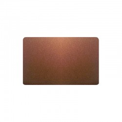300 Cartes PVC Bronze pailleté - 54 x 86 mm