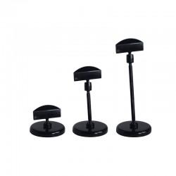 25 Socles à tige PVC noir - A partir de (selon la taille):