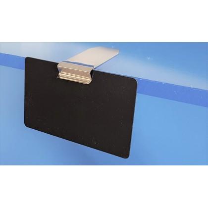 Supports étiquettes pour tablettes horizontales  - CLIPINOX HORIZONTAL