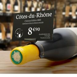 25 Porte-étiquette bouteille - AC000020
