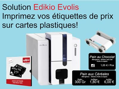 Solution Evolis Edikio Flex Imprimantes d'étiquettes de prix